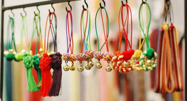 京都 伝統工芸17 くみひも2
