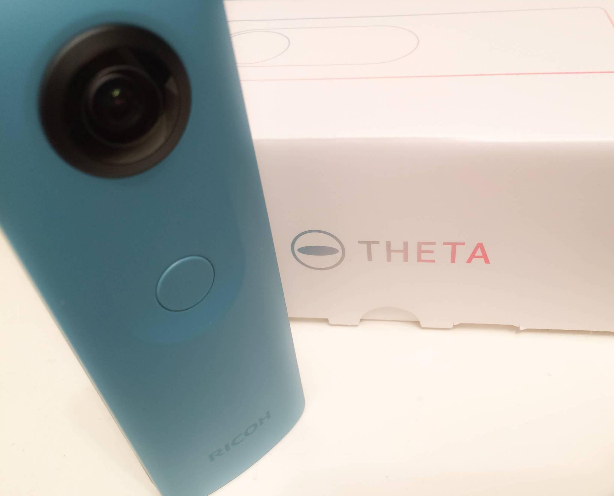 360°カメラ Ricoh Theta SC