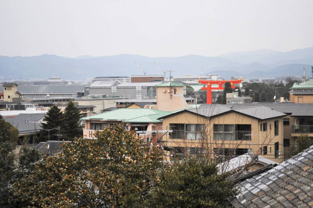 粟田神社景色