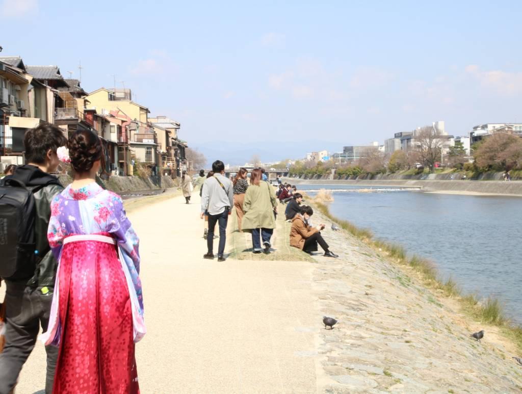 スタート(鴨川沿い)