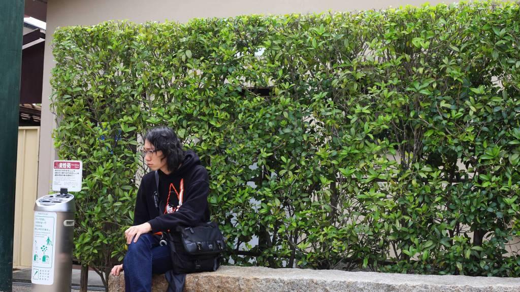 壬生寺喫煙所
